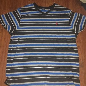 U.S Polo Assn. V-Neck. Size large